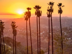 View from the hills above Los Angeles by American Luxury Limo