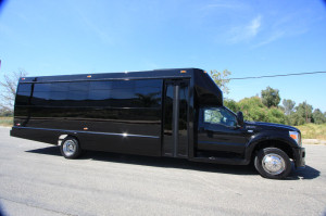 Limo buses available from Ventura County Limousine
